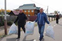В честь дня Енисея в Туве очистили его берега от мусора