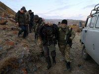 Подозреваемого в убийстве разыскали в Туве в тайге при помощи дрона