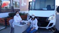 В первый же выезд мобильного ФАП вакцинированы от коронавируса 30 жителей села Ийме