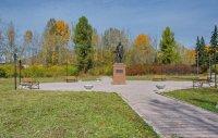 К 100-летию ТНР в Туране открыли памятник основателю тувинской государственности Иннокентию Сафьянову