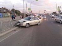 В Кызыле пьяный водитель сбил ребенка на светофоре