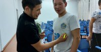 В ТувГУ прошла встреча с бронзовым призером Олимпиады в Токио Артасом Санаа