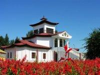 Буддийский храм Цеченлинг в Туве попал в список самых красивых храмов по России