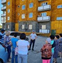 В дом №25 по Ангарскому бульвару в Кызыле подали тепло