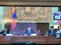 Сенатор Дина Оюн сообщила о предстоящем визите президента Монголии в Москву