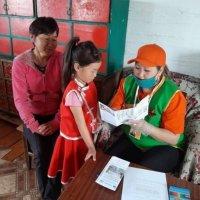 Федеральный проект «Поддержка семей, имеющих детей» работает на чабанских стоянках Тувы