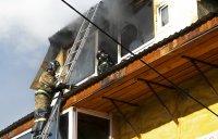 Из-за электрообогревателя в Кызыле выгорел целый этаж